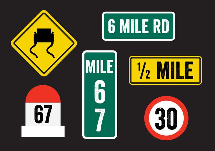 56otdtco5pl1x15 Road Sign Vectors