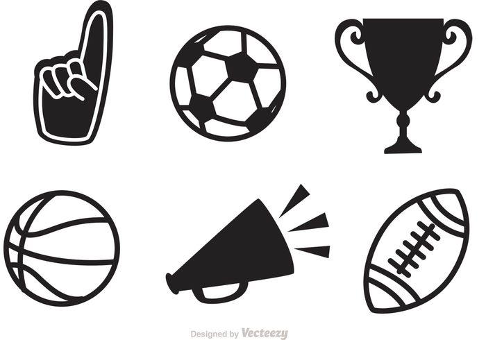 black sports vector icons 105491 welovesolo rh welovesolo com sports factory outlet sports factory norwich