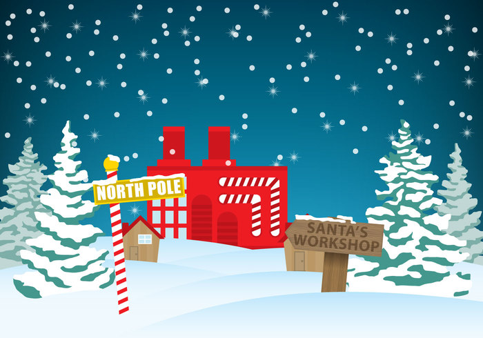 xmas workshop wooden Wonderland winter white village tree traditional town string special snow sign seasonal scene Santa's workshop santa road pole outdoors north lights houses holiday hat greeting fun forest fir evergreen deal Claus christmas cartoon card bulbs billboard barber