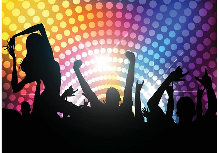 Free vector club life background welovesolo - Club lights wallpaper ...