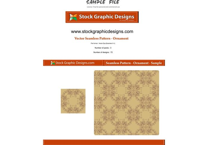 vector pattern seamless pattern ornate ornament