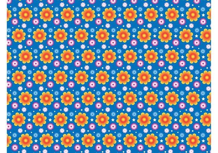 vector pattern Textile seamless repeating Pattern design nature fun free pattern free backgrounds flowers floral