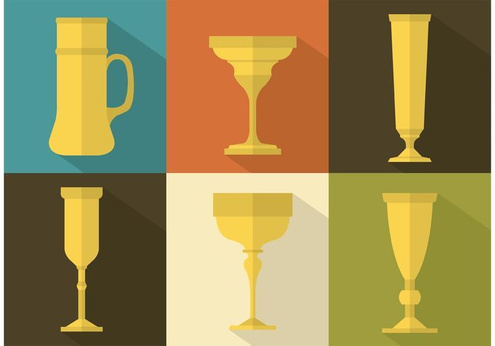 wine religion old mystical metal medieval goblet medieval long shadow isolated holy history grail golden gold goblet silhouette goblet flat design drink cup church christian antique ancient
