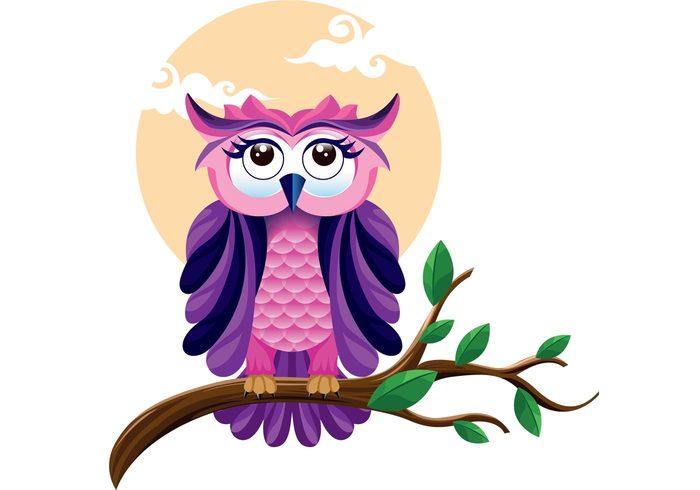 purple bird Predators owl wallpaper owl background owl nocturnal animal Nocturnal birds bird animals animal night animal