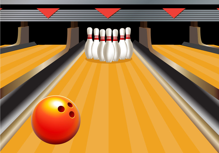 Bowling Alley Vector - WeLoveSoLo