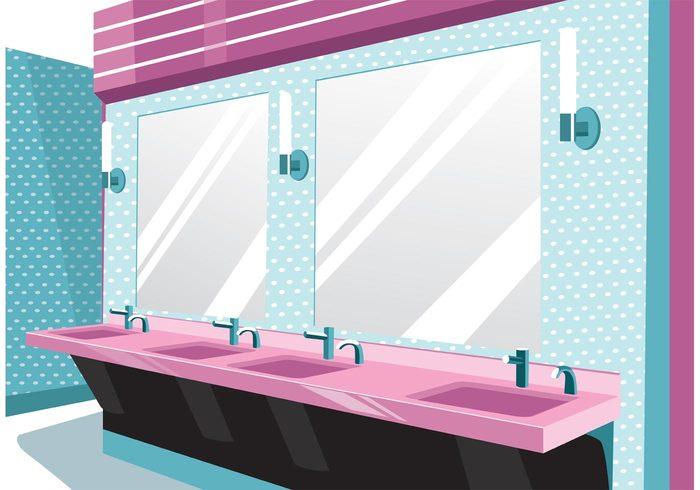 women wc water washroom wash toilet room rest room people modern mirror lady interior indoors female clean bathroom bath background