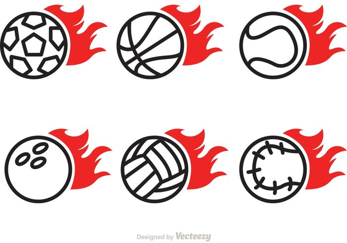volleyball on fire Volley tennis sports logo sports sport soccerball on fire soccer play flaming flame fire burning ball bowling ball on fire bowling basketball on fire logo basketball on fire basketball logo basket baseball on fire baseball ball on fire ball