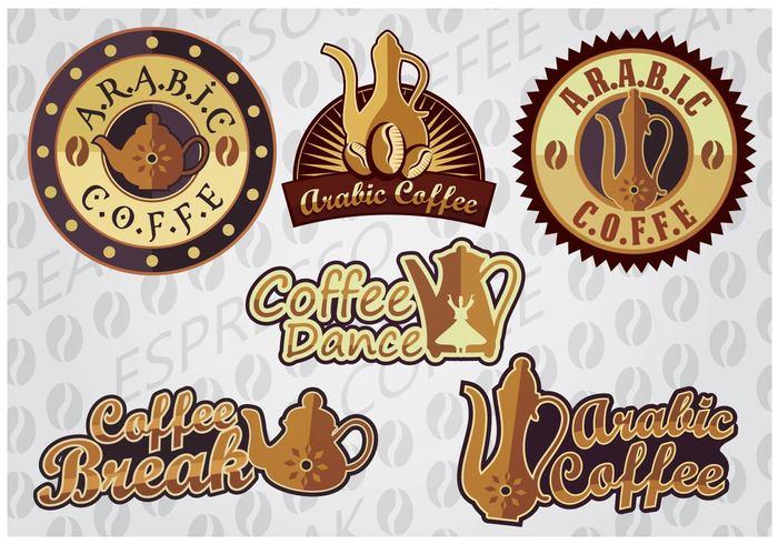 white vector turkish time roaster premium pot logo lamp jar icon hot espresso drink dance coffee brown break black beverage bean arabic coffee pot arabic