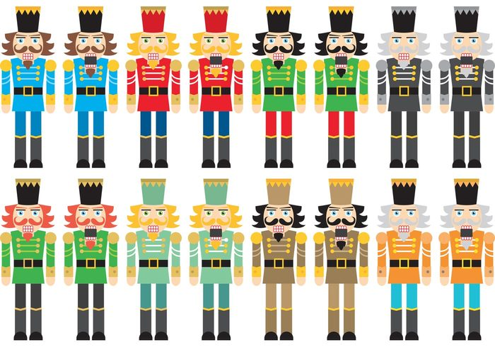 xmas uniform toy statue soldier nutcracker ballet nutcracker mustache moustache military isolated holidays figurine December costume christmas character cartoon beard