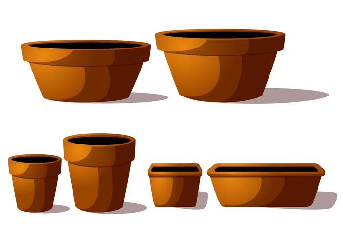 stoneware pot planter plant pan horticulture Hobby gardening flowerpot flower pot container clay pot ceramics ceramic cartoon brown bonsai