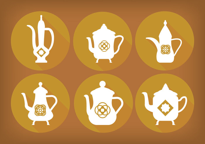 simple pots pot middle eastern Middle East long shadow lamp flat Emirates Dubai drink culture coffee pot coffee arabic coffee pot arabic arab aladdin's lamp. ramadhan