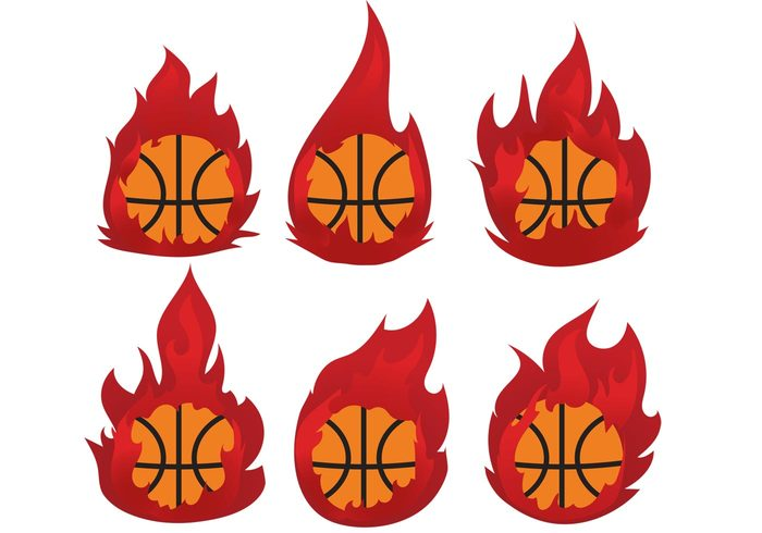 sport power orange heat graphic game flying flame Fireball fire competitive competition burning basketball on fire basketball logo basketball ball Athletic