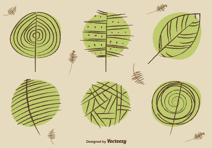 tree summer spring sketch silhouette shape set season plant organic oak nature May March maple line leave leaf green flora Fall ecology drawn drawing doodle curl contour clover botany Biology art April