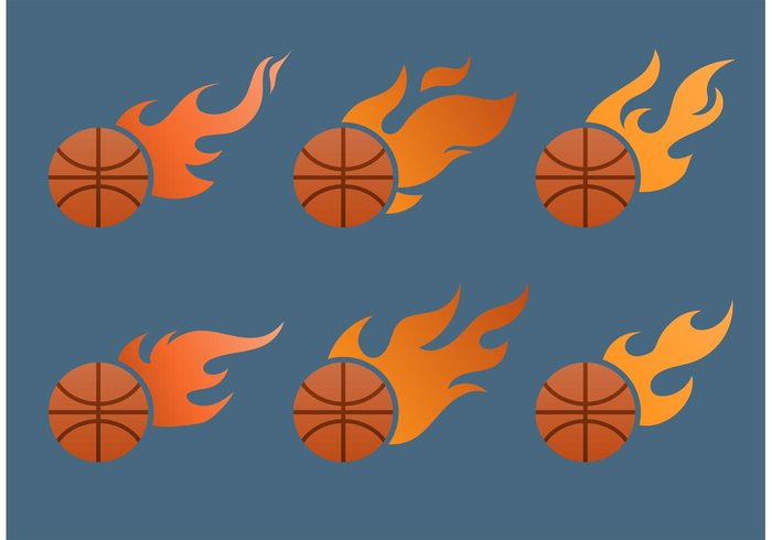sports sport NBA heat flaming ball flaming flames flame fire burning ball basketball on fire basketball logo basketball basket ball ball on fire ball