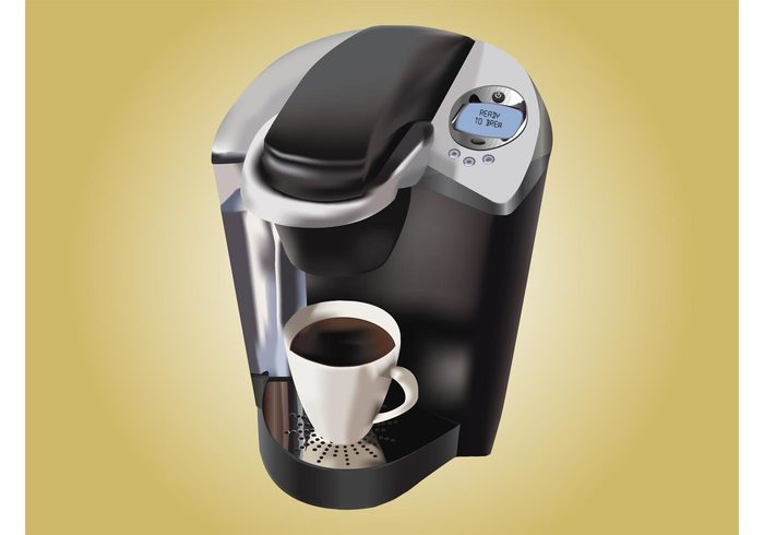 technology steam screen morning mirror liquid drink cup coffee maker coffe maker caffeine buttons brew beverage appliance