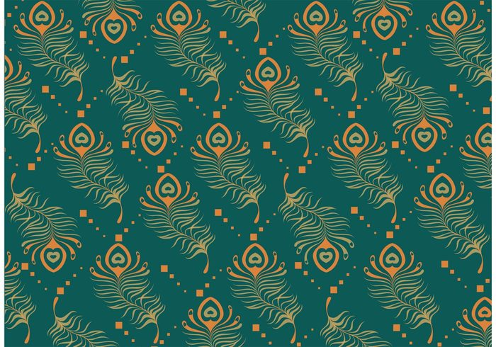 teal peacock pattern vector 106770 welovesolo