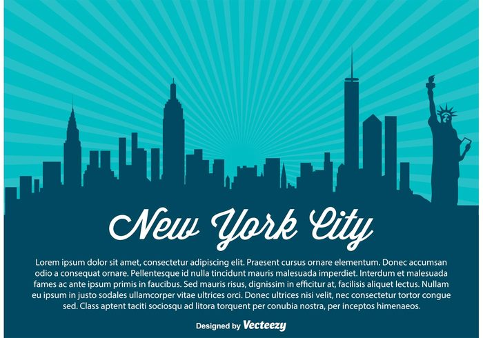 west USA United travel states skyscraper skyline sky silhouette shore scraper reflection poster postcard panorama new york silhouette new york city new york modern Manhattan landmark high front downtown detailed coast cityscape city building beautiful background architecture america