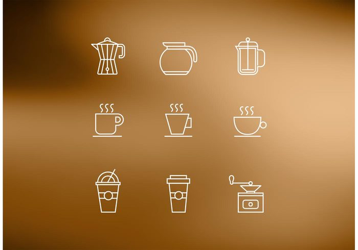 water vector taste take-away symbols sign shop shape set saucer restaurant pot natural mug morning mocha menu machine isolated illustration icons iced coffee hot frappe espresso energetic drop drink design cup coffee maker coffee machine coffee coffe maker cappuccino caffeine cafe brewed breakfast break beverage beans background