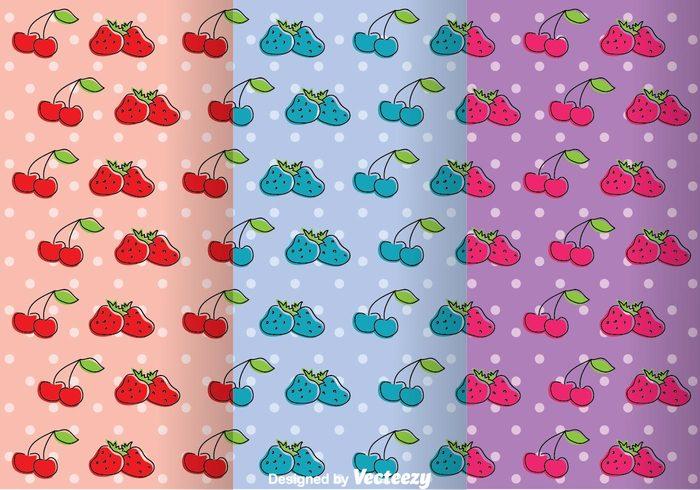 wallpaper strawberry pattern strawberry seamless retro cherry retro cherries pattern girly patterns girly pattern girly fruit pattern fruit decoration colorful cherry pattern cherry cherries background