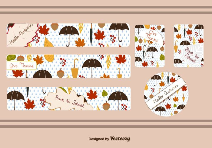 umbrella thanksgivng thanksgiving border thanks template September school rain paper orange leaf green give thanks frame education drawing chalk banner background Back to school back autumn