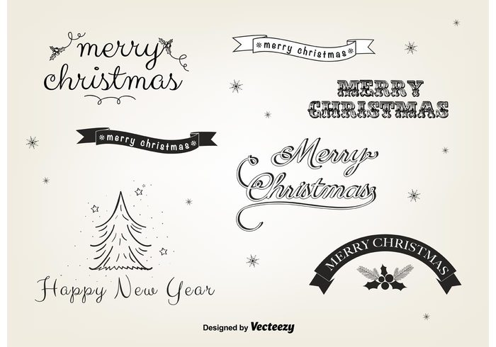 Free Christmas Vector Labels 133068 - WeLoveSoLo