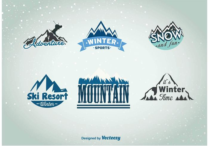 winter team tag sticker sports snowboard snow ski sign resort Recreation Patrol patch mountaineering mountain label insignia Explore exploration expedition emblem denver mountains climbing blue badge