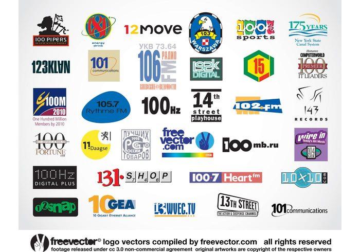 Visual identity Signage one number 1 letterhead inspiration hundred branding Brand identity 123 klan 100m 100% 100 million 100 hz 10 gb 01 +1