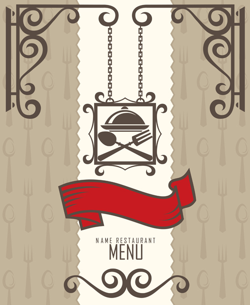 restaurant menus design cover template vector 02 welovesolo