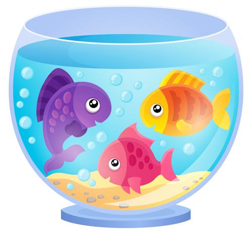 aquarium with fish cartoon vector set 07 welovesolo bachelorette party clip art free images bachelorette party clipart