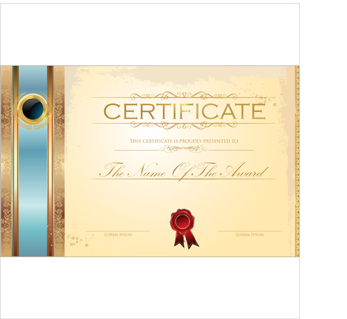 Top Performer Certificate Template  Certificate Designs Free