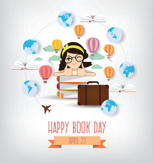 happy book April 23
