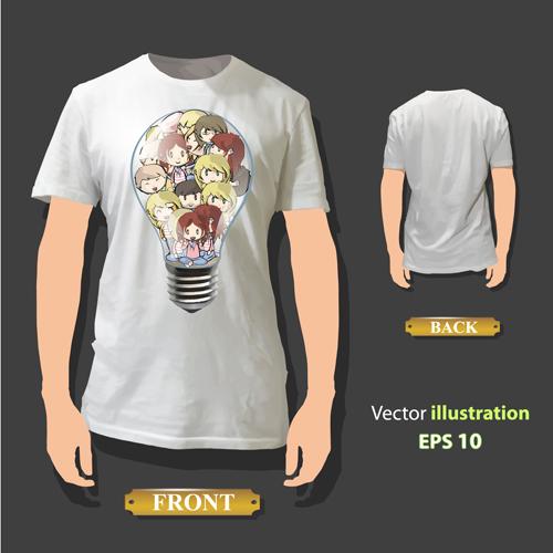 shirt front creative back