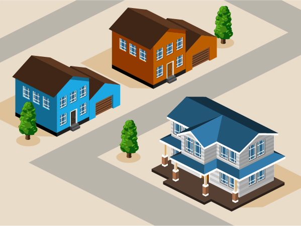 model city building