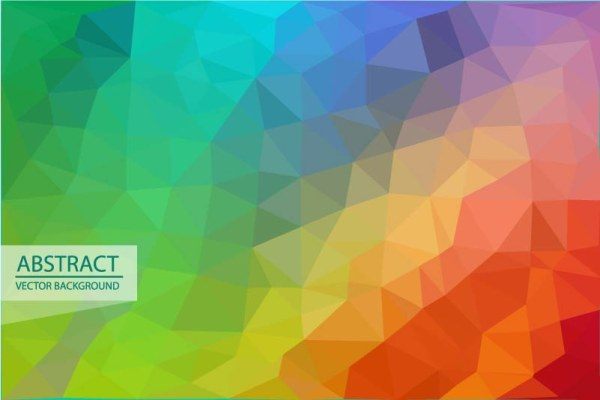 vector background triangle embossment abstract