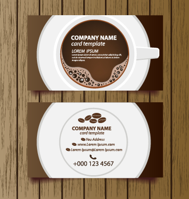 Creative coffee house business cards vector graphic 01 welovesolo vector graphic creative coffee house coffee business cards business colourmoves