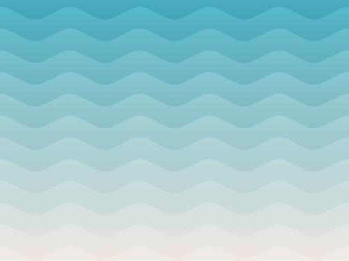 Sea waves pattern