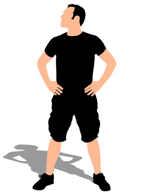 young man illustration