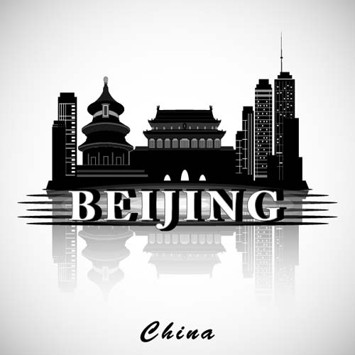 city Beijing background