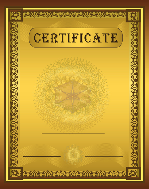 templates for certificates