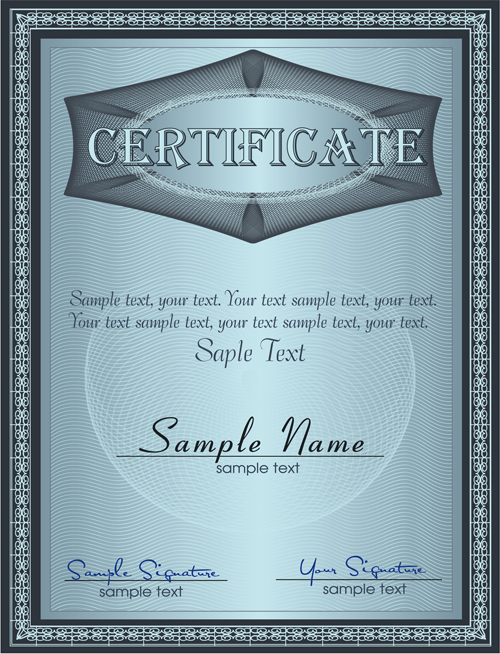 Vector templates of certificates design set 04 welovesolo vector templates of certificates design set 04 yelopaper Images