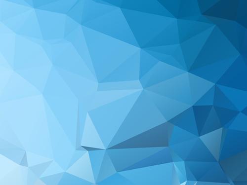 triangular embossment blue background background