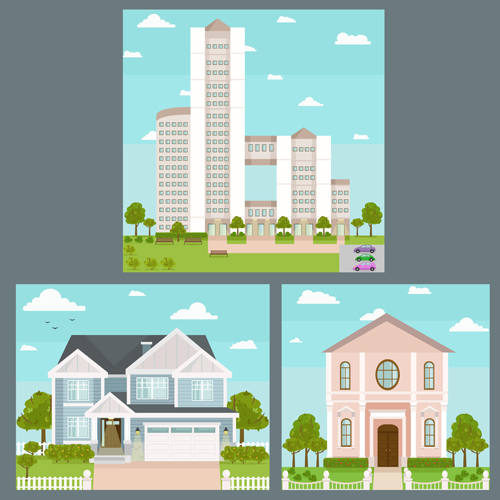 template houses concept
