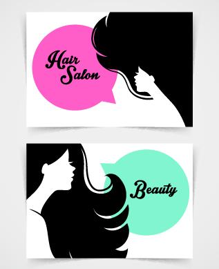 Exquisite beauty salon business cards vector material 05 welovesolo vector material business cards business beauty salon colourmoves