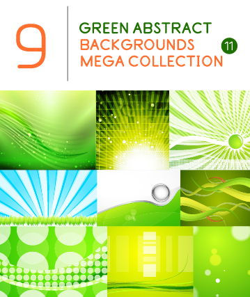 green background abstract background
