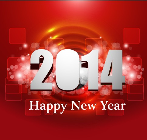 Vectors new year new halation background vector background