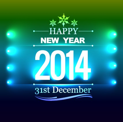 vector background new year happy background
