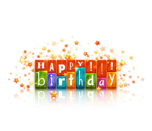 Cute happy birthday cards vector 02 WeLoveSoLo – Cute Happy Birthday Cards
