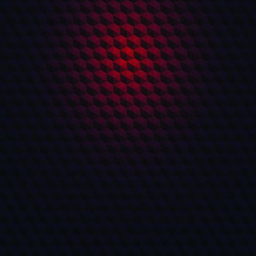 hexagon embossment background