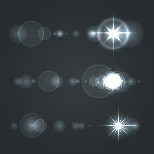 Shining star light illustration vector 02 Shining star light illustration vector 02