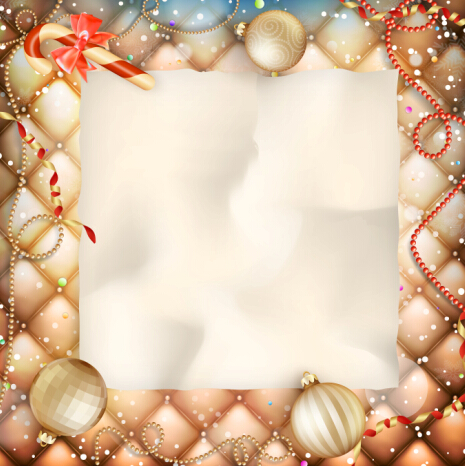 Christmas ornate background with greeting cards vector 04 welovesolo ornate greeting christmas cards background m4hsunfo